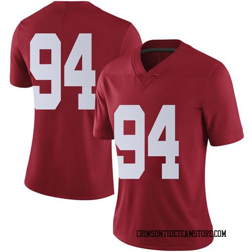 Women's Nike Mario Osborne Jr. Alabama Crimson Tide Limited Crimson Football College Jersey