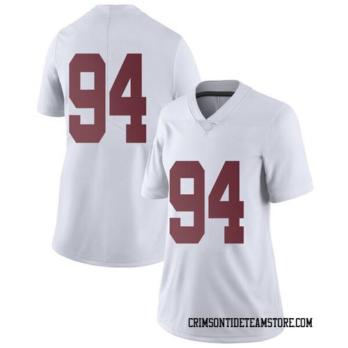 Women's Nike Mario Osborne Jr. Alabama Crimson Tide Limited White Football College Jersey