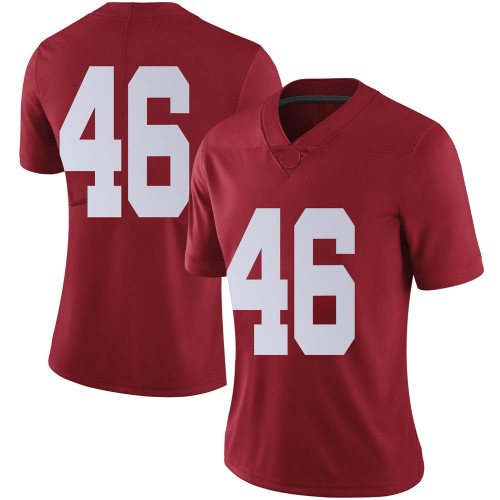Women's Nike Melvin Billingsley Alabama Crimson Tide Limited Crimson Football College Jersey