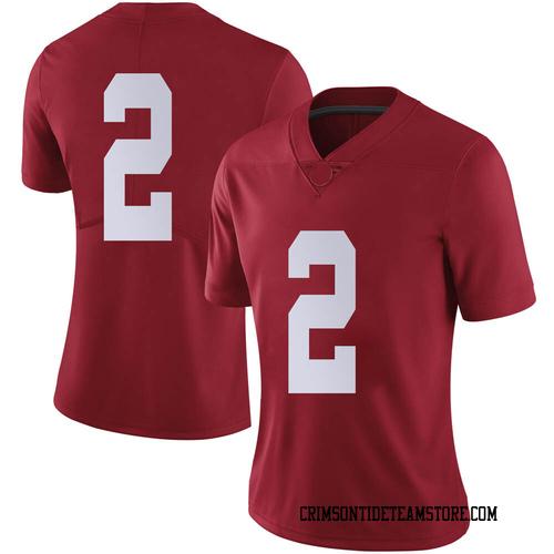 Women's Nike Patrick Surtain II Alabama Crimson Tide Limited Crimson Football College Jersey