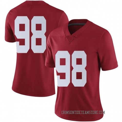 Women's Nike Preston Knight Alabama Crimson Tide Limited Crimson Football College Jersey