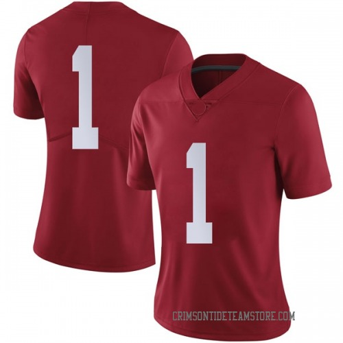 Women's Nike Riley Norris Alabama Crimson Tide Limited Crimson Football College Jersey