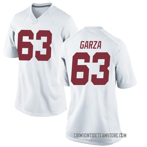 Women's Nike Rowdy Garza Alabama Crimson Tide Game White Football College Jersey