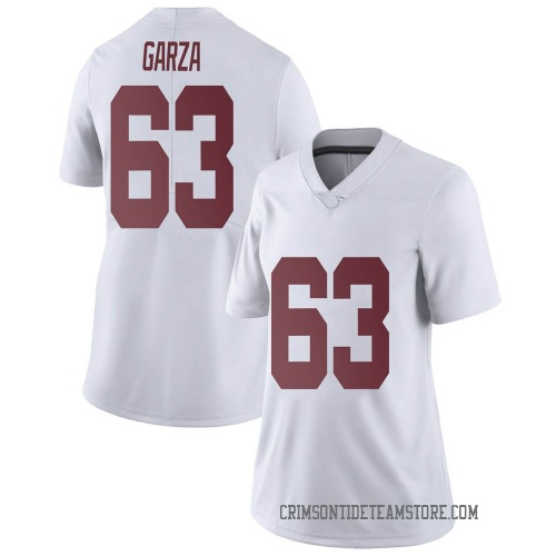 Women's Nike Rowdy Garza Alabama Crimson Tide Limited White Football College Jersey