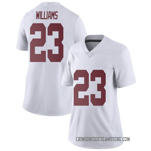 Women's Nike Roydell Williams Alabama Crimson Tide Limited White Football College Jersey
