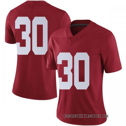 Women's Nike Ryan Burns Alabama Crimson Tide Limited Crimson Football College Jersey