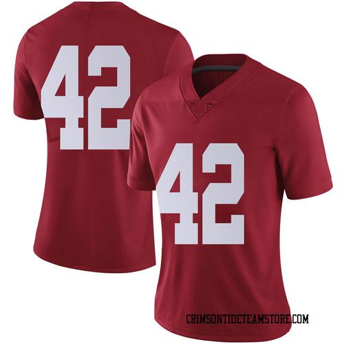 Women's Nike Sam Reed Alabama Crimson Tide Limited Crimson Football College Jersey