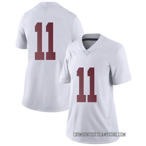 Women's Nike Scooby Carter Alabama Crimson Tide Limited White Football College Jersey
