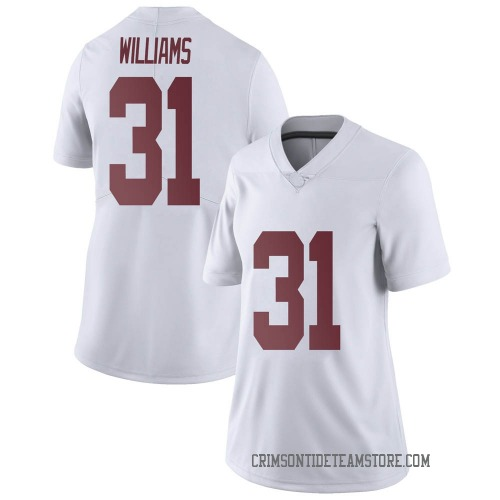 Women's Nike Shatarius Williams Alabama Crimson Tide Limited White Football College Jersey
