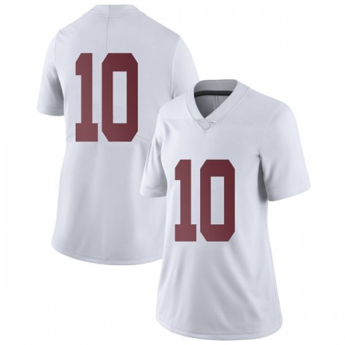 Women's Nike Skyler DeLong Alabama Crimson Tide Limited White Football College Jersey