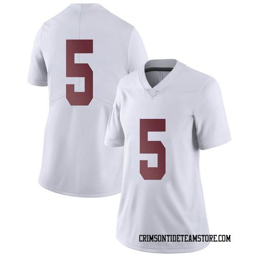 Women's Nike Taulia Tagovailoa Alabama Crimson Tide Limited White Football College Jersey