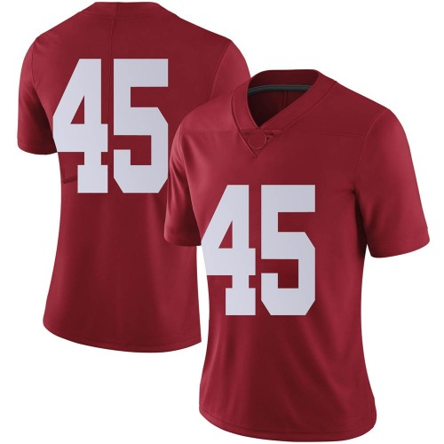 Women's Nike Thomas Fletcher Alabama Crimson Tide Limited Crimson Football College Jersey