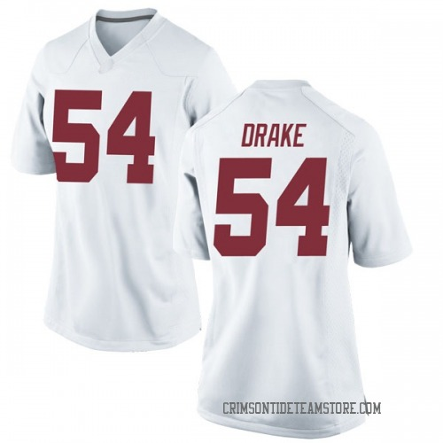 Women's Nike Trae Drake Alabama Crimson Tide Replica White Football College Jersey