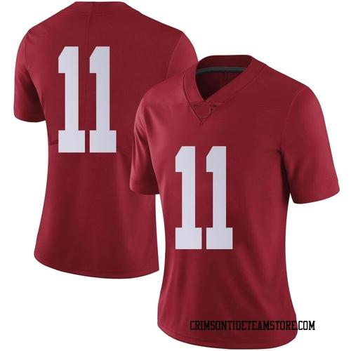 Women's Nike Traeshon Holden Alabama Crimson Tide Limited Crimson Football College Jersey