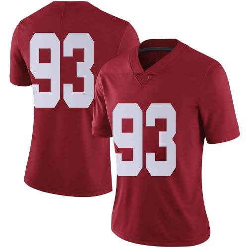 Women's Nike Tripp Slyman Alabama Crimson Tide Limited Crimson Football College Jersey