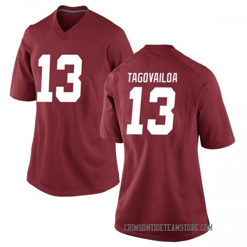 Women's Nike Tua Tagovailoa Alabama Crimson Tide Game Crimson Football College Jersey