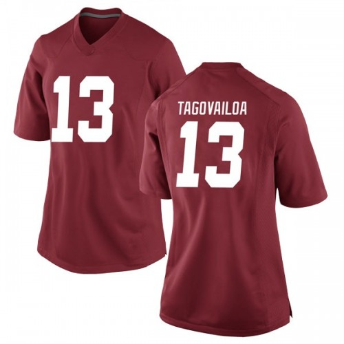 Women's Nike Tua Tagovailoa Alabama Crimson Tide Game Crimson Football College Jersey