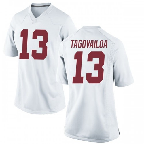 Women's Nike Tua Tagovailoa Alabama Crimson Tide Game White Football College Jersey
