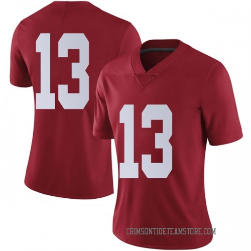 Women's Nike Tua Tagovailoa Alabama Crimson Tide Limited Crimson Football College Jersey
