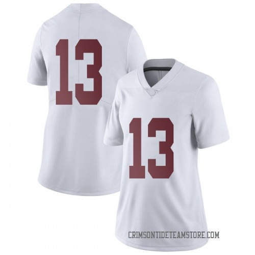 Women's Nike Tua Tagovailoa Alabama Crimson Tide Limited White Football College Jersey