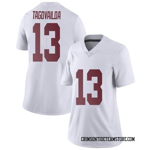 Women's Nike Tua Tagovailoa Alabama Crimson Tide Limited White Football College Jersey