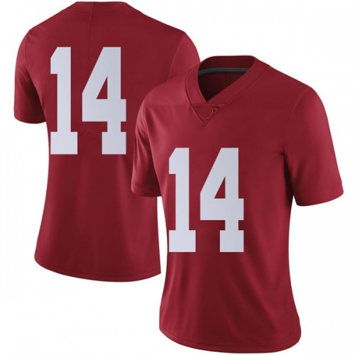 Women's Nike Tyrell Shavers Alabama Crimson Tide Limited Crimson Football College Jersey