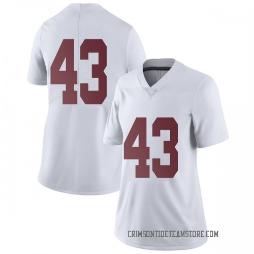 Women's Nike Vandarius Cowan Alabama Crimson Tide Limited White Football College Jersey