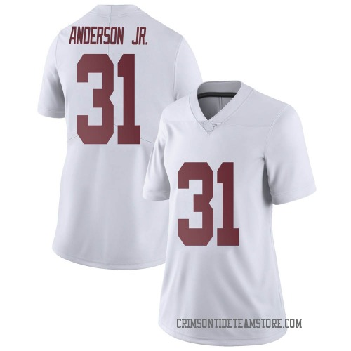 Women's Nike Will Anderson Jr. Alabama Crimson Tide Limited White Football College Jersey