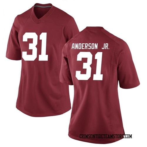 Women's Nike Will Anderson Jr. Alabama Crimson Tide Replica Crimson Football College Jersey
