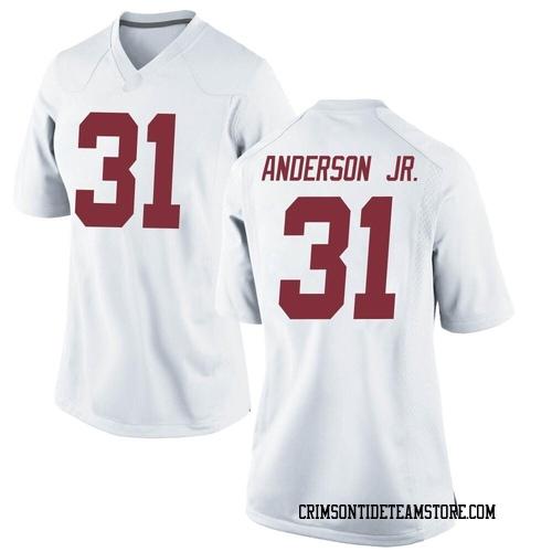 Women's Nike Will Anderson Jr. Alabama Crimson Tide Replica White Football College Jersey