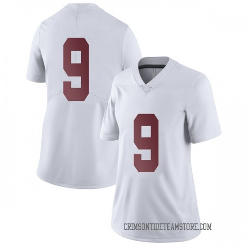 Women's Nike Xavier Williams Alabama Crimson Tide Limited White Football College Jersey