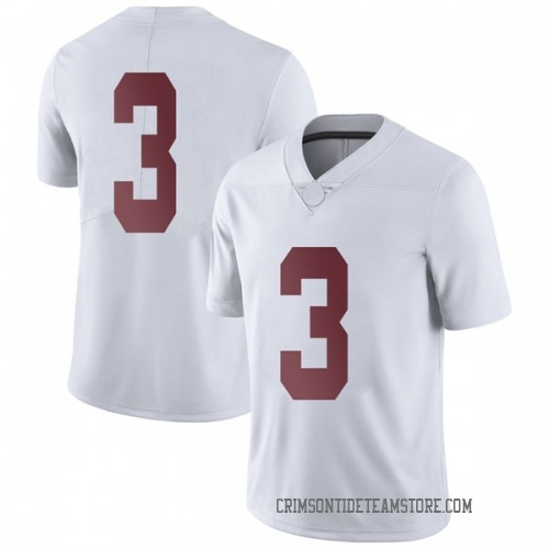 Youth Nike Alex Reese Alabama Crimson Tide Limited White Football College Jersey