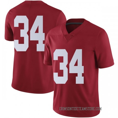 Youth Nike Brandon Bishop Alabama Crimson Tide Limited Crimson Football College Jersey
