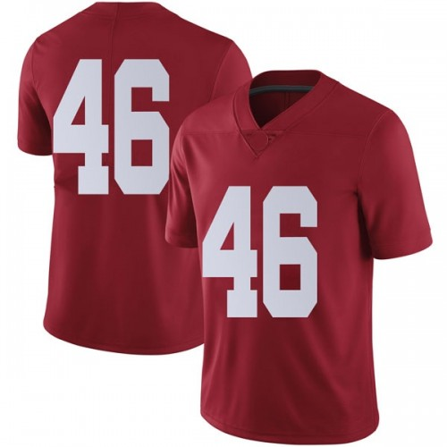 Youth Nike Cameron Latu Alabama Crimson Tide Limited Crimson Football College Jersey