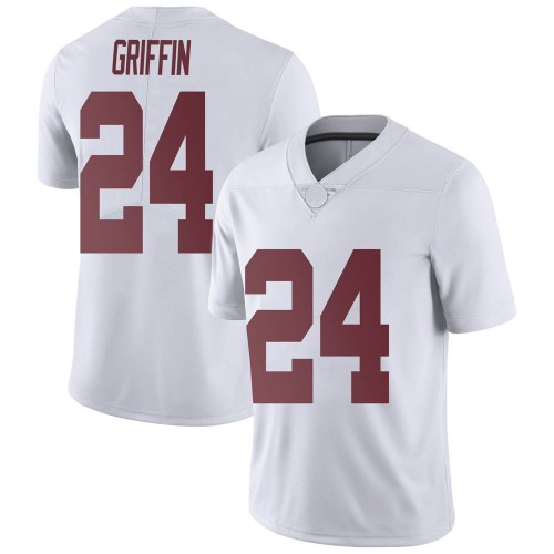 Youth Nike Clark Griffin Alabama Crimson Tide Limited White Football College Jersey