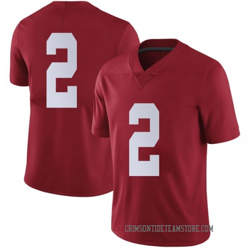 Youth Nike Collin Sexton Alabama Crimson Tide Limited Crimson Football College Jersey