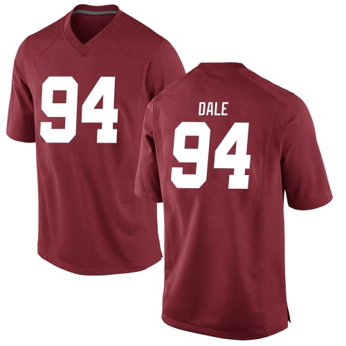Youth Nike DJ Dale Alabama Crimson Tide Replica Crimson Football College Jersey