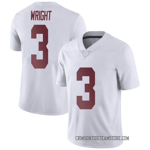 Youth Nike Daniel Wright Alabama Crimson Tide Limited White Football College Jersey