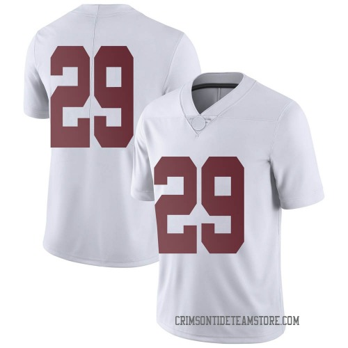 Youth Nike DeMarcco Hellams Alabama Crimson Tide Limited White Football College Jersey