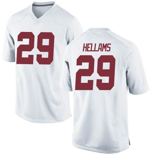 Youth Nike DeMarcco Hellams Alabama Crimson Tide Replica White Football College Jersey