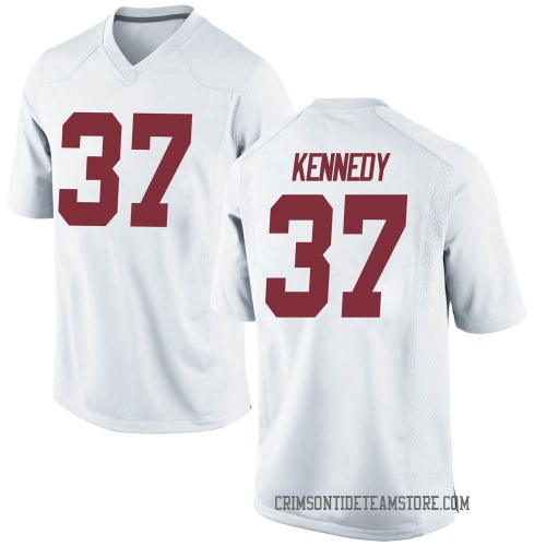 Youth Nike Demouy Kennedy Alabama Crimson Tide Replica White Football College Jersey