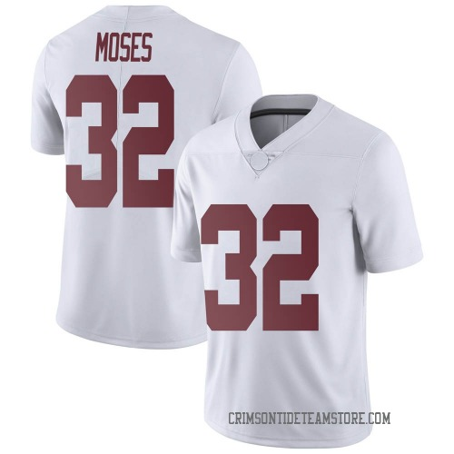 Youth Nike Dylan Moses Alabama Crimson Tide Limited White Football College Jersey