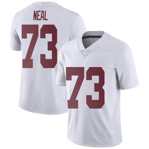 Youth Nike Evan Neal Alabama Crimson Tide Limited White Football College Jersey