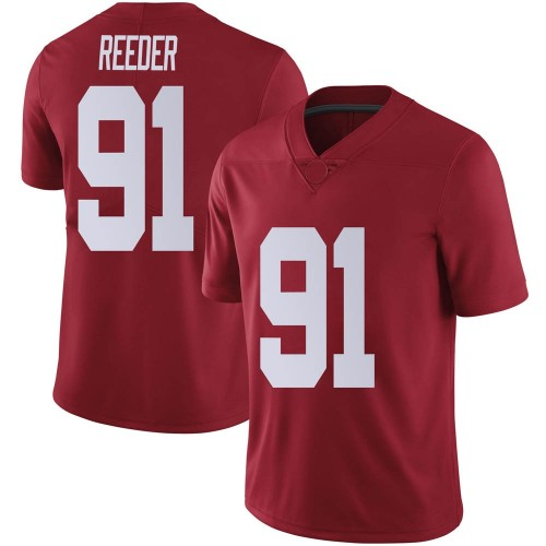Youth Nike Gavin Reeder Alabama Crimson Tide Limited Crimson Football College Jersey