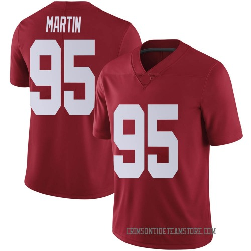 Youth Nike Jack Martin Alabama Crimson Tide Limited Crimson Football College Jersey