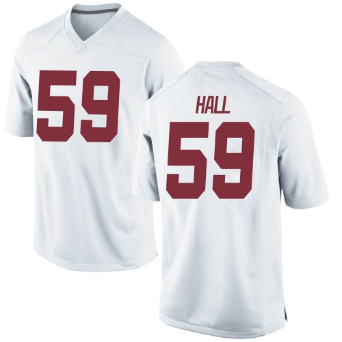 Youth Nike Jake Hall Alabama Crimson Tide Game White Football College Jersey