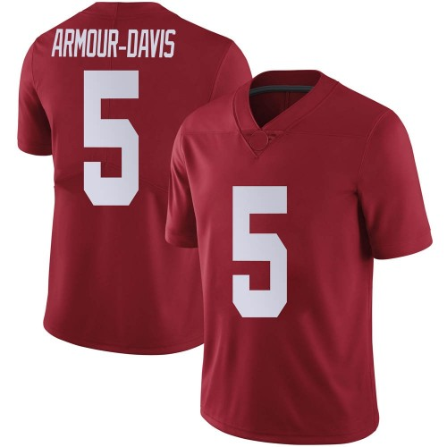 Youth Nike Jalyn Armour-Davis Alabama Crimson Tide Limited Crimson Football College Jersey