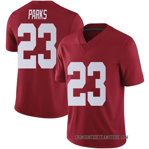 Youth Nike Jarez Parks Alabama Crimson Tide Limited Crimson Football College Jersey