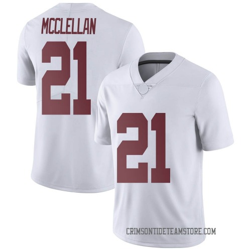 Youth Nike Jase McClellan Alabama Crimson Tide Limited White Football College Jersey