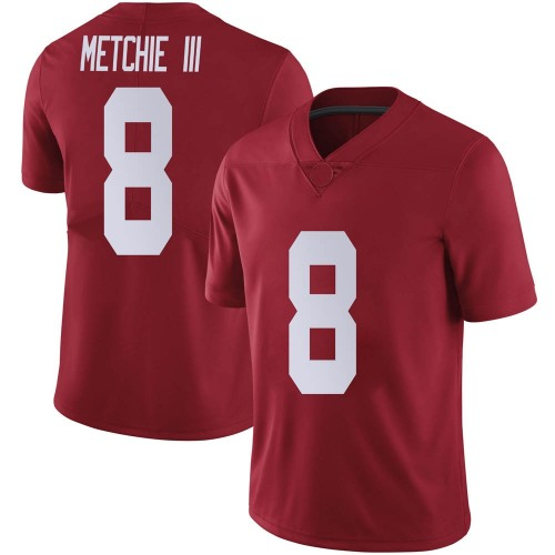 Youth Nike John Metchie III Alabama Crimson Tide Limited Crimson Football College Jersey